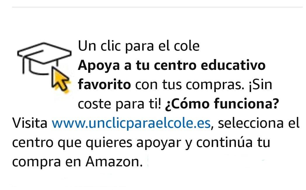 Si compras en Amazon puedes apoyar a nuestro centro.