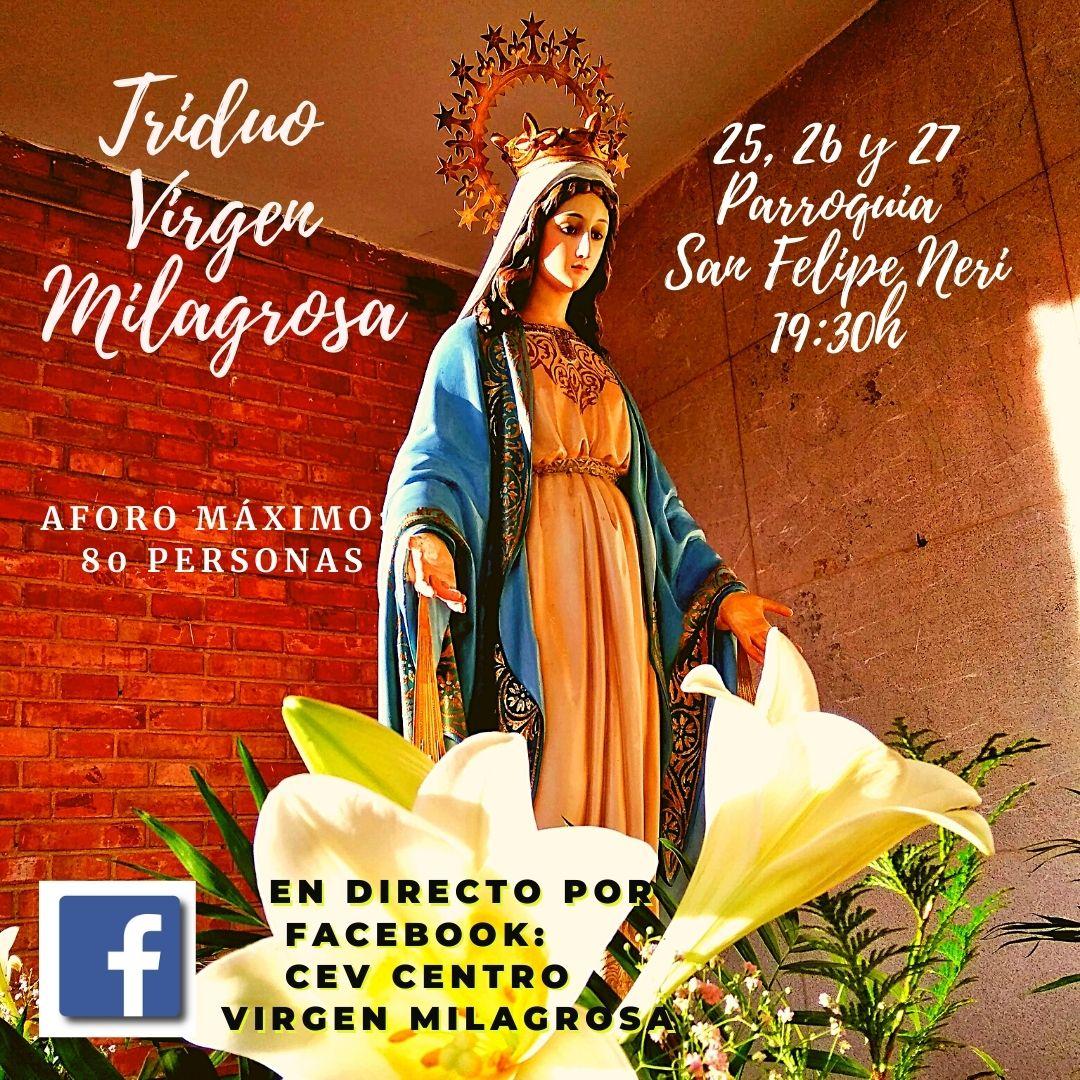 Triduo de la Virgen Milagrosa